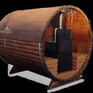 Panorama sauna from Sauneco