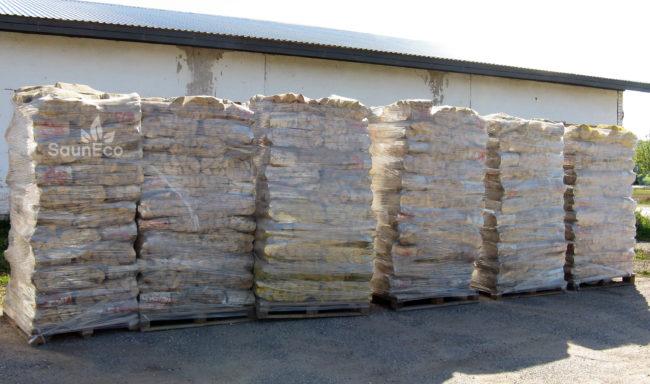 Birch Wood Logs ~ Dry birch firewood logs full truck high quality wood