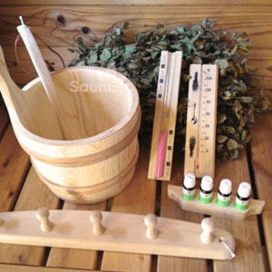Sauna Accessories Kit L from Sauneco