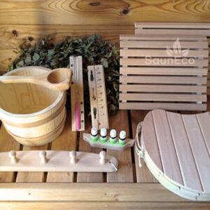 Sauna Accessories Kit XL from Sauneco