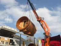 Barrel sauna review for Sauneco